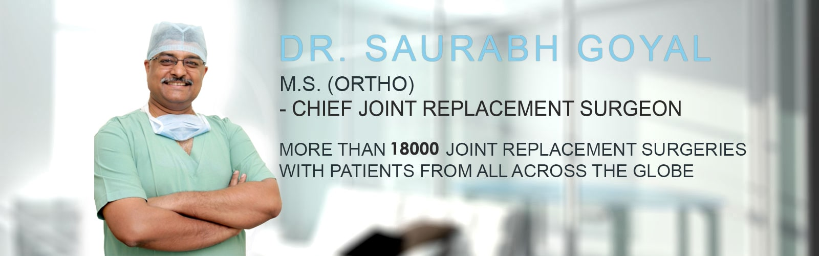 Best Orthopedic Doctor Jaipur, No 20 Knee Joint Replacement Surgeon ...